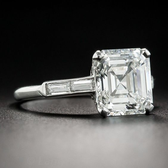 diamond asscher