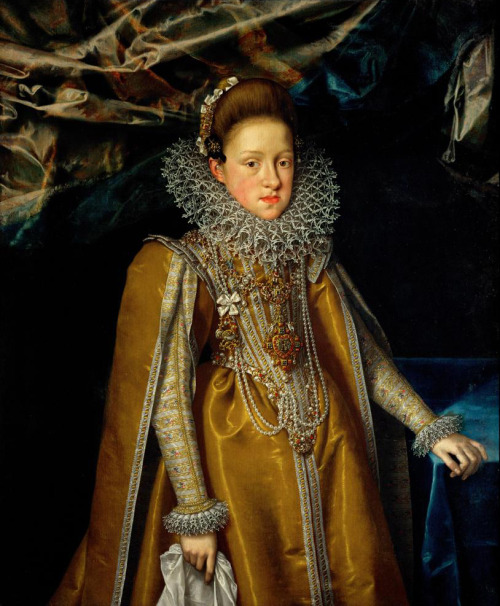 diamond Frans Pourbus the Younger, Archduchess Maria Magdalena of Austria