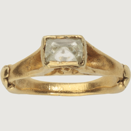 diamond roman ring 4th century