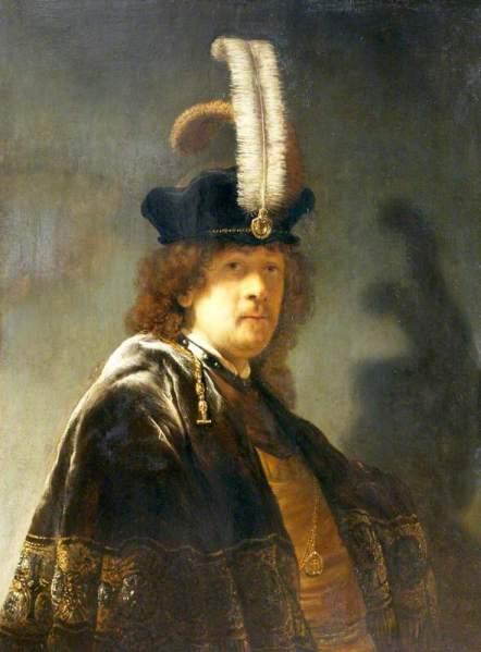 Rembrandt selfie 1635