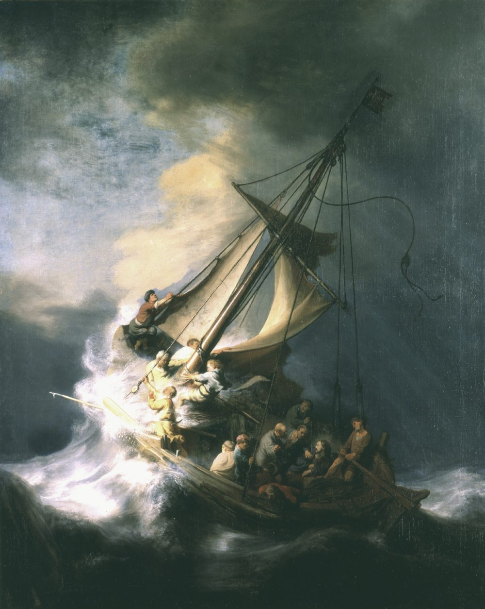 Rembrandt The Storm on the Sea of Galilee