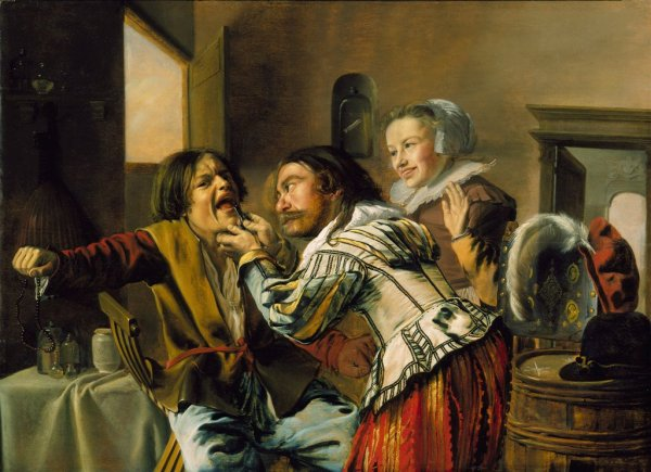 The Dentist Jan Miense Molenaer