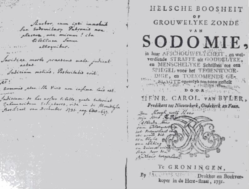 Gronigen sodomy