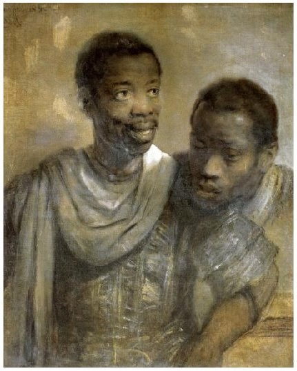 rembrandt_two black moors