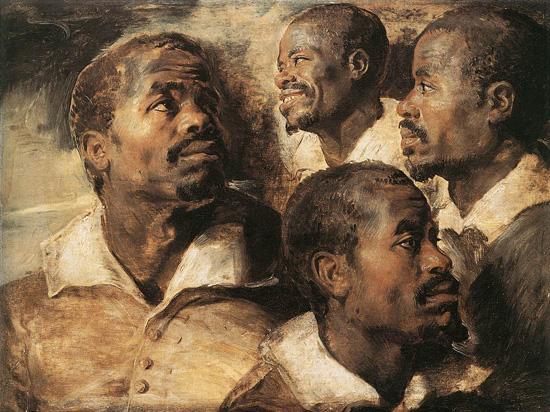 Rubens-Four-Studies-Head-Negro