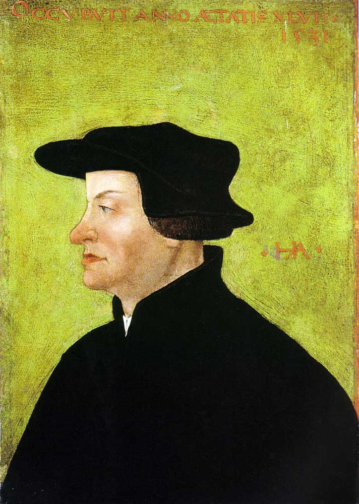 Ulrich Zwingli 1531