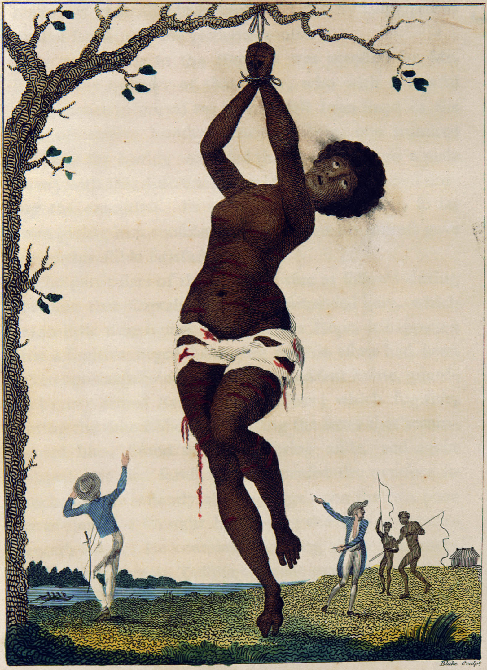 Blake Hanging Woman